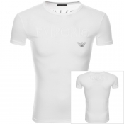 Emporio Armani Crew Neck Lounge T Shirt White